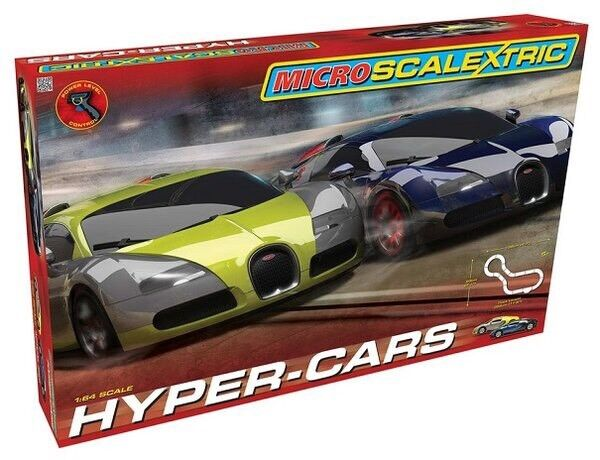 Micro Scalextric Hyper-Cars - New and Unopened
