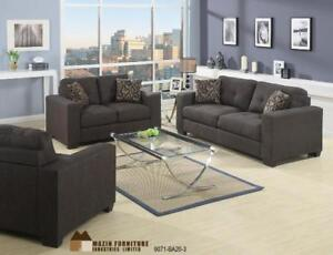 3 PC Fabric Sofa Set (MA356)