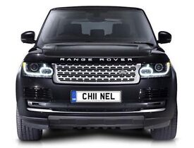 Classy & Fabulous number plate