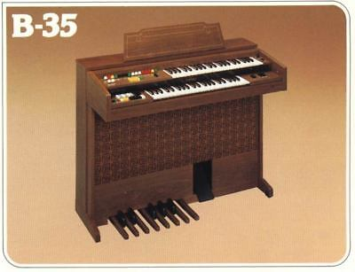 1978 Yamaha Electone Organ B-35 with Electronic Tremolo Japan Priced down for sale  Montreal