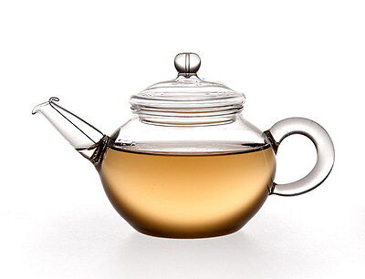 Small Clear Glass Teapot 200ml FH-204
