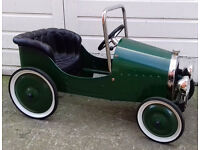 Vintage Ride On Pedal Car Vintage Style Car