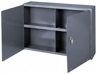 Durham 1 Shelf Wall Storage Cabinet Steel 33-34 Wide X 8-12 Deep X 22-1...