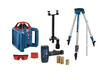 Bosch Grl800-20hvk Self Leveling 800ft Rotary Laser Kit With Tripod Grade Rod