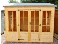 JANUARY OFFER ONLY 9ft x 7ft Summer House