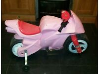 Hello kitty battery powered ride on scooter / motorcycle 6v