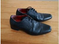 Boys leather smart shoes size 10