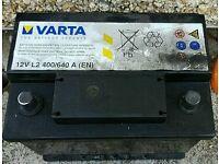 Varta car battery 12v very good condition