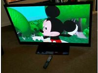 Lg 42 inch slim line HD tv excellent condition fully working with remote control