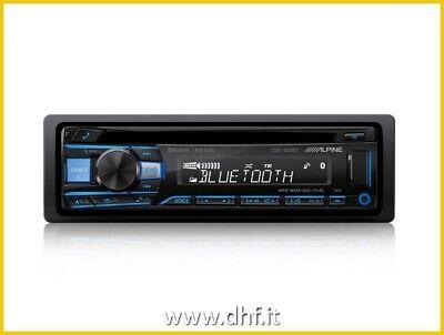 AUTORADIO ALPINE CDE-203BT CD USB AUX BT FLAC BLUETOOTH MULTICOLORE