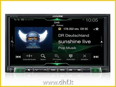 ALPINE iLX-702D APP RADIO USB 7