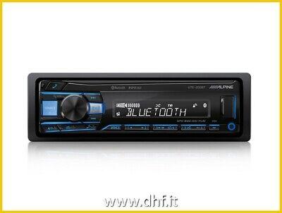 AUTORADIO ALPINE UTE-200BT USB AUX BT FLAC BLUETOOTH MULTICOLORE