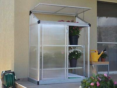 Palram 4x2 Lean-too Grow House Greenhouse Small Garden Veg Plants Free Delivery!
