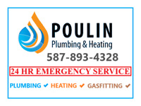 Plumber Hot water tank and furnace services