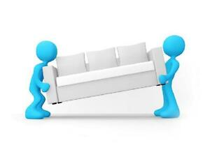 Couch and Futon pick/delivery service for the GTA as low as $59