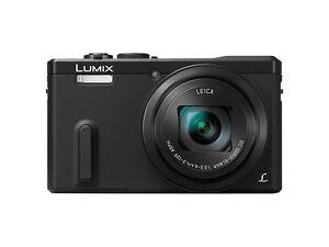 Panasonic-LUMIX-DMC-TZ61-18-1MP-Digitalkamera-Schwarz