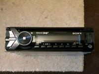 Sony head unit car stereo DAB ditigal radio with bluetooth usb aux