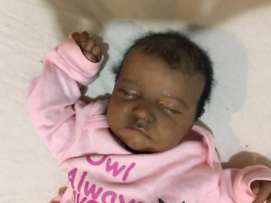 Beautiful Reborn Baby Girl Doll Levi