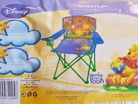 Brand new Kids / Childrens Disney Winnie the Pooh folding chair / camping chair