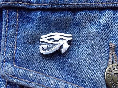 Eye of Ra Pewter Pin Badge