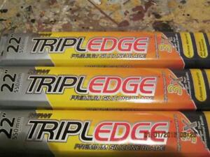 Triple Edge Windshield Wipers - size 17, 20, 22! Brand New, seal