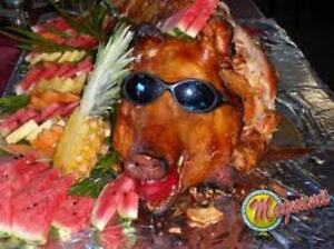 Suckling Piglet for Thanksgiving or Christmas