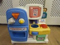 Little tikes baby kitchen playset shape sorter LITTLE TIKES