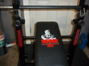 Bench press (comme neuf ).
