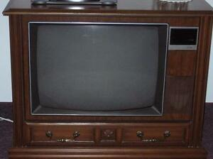 OLD FLOOR MODEL TELEVISION