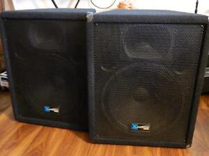 Yorkville Amp.MP10ds/Yorkville YS-115 speakers/Korg/Roland/