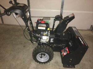 MURRAY DUAL STAGE SNOW BLOWER 27'' CUT 11.50 HP 250CC