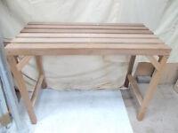 Wooden Potting Bench 118 x 57 x 91cm