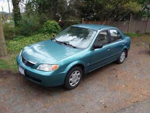 SOLD**CERTIFIED ONLY 113 WINTER READY MAZDA PROTEGE**SOLD