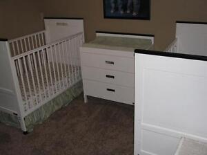 Twins (X2 not size) bedroom set, everything included