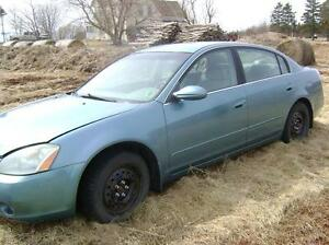 2002 Nissan Altima 2.5 5 speed For Parts $350