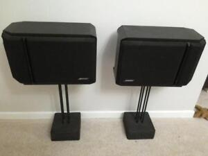 Bose 201 Direct /Reflecting Book Shelf speaker pair system 120W