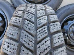 Winter Tires 225/60/16 Hankook I-Pike RCO1 on RIMS 5 X 114.3mm
