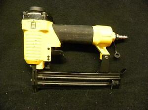 Power fist brad nailer mint condition