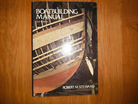 Boatbuilding Manual by Robert M. Steward Wood Joinery Planking