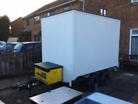 Box trailer 8.ft.8 inch x 6.ft.3 inch x 6.ft