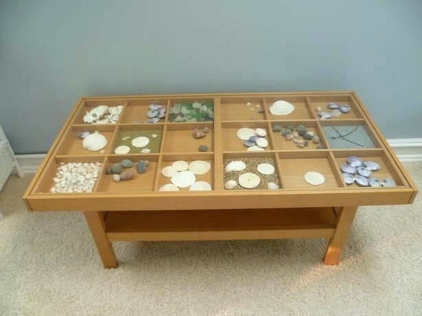 Ikea Glass Top Display Coffee Table In Chapel Allerton West