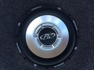 """2 - 10"""" Phoenix Gold subs in truck boxes"""