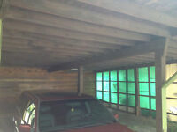 CARPORT - LUMBER FOR SALE