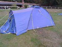 Tent - Suncamp Voyager XL3 3 Man Tent