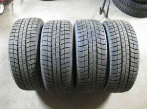 Winter tires - Michelin Pilot Alpin 215/45/17 - Low KM Usage West Island Greater Montréal image 1