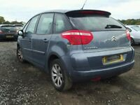 CITROEN C4 PICASSO 2009 GREY 5DR (9HZ) BREAKING FOR SPARES