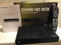 Shaw Single Tuner HD Box (DCX3200-M) Works Great MSRP $199