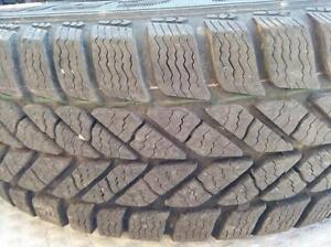 215/60R15 Set of 2 Goodyear used winter FREEInst.&Bal.70%tread