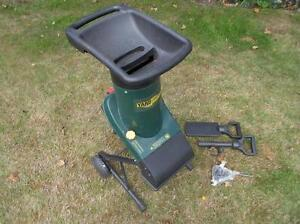 Yard Works electric wood chipper