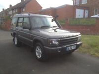 LANDROVER DISCOVERY TD5 AUTO 7SEATER 02reg 2002